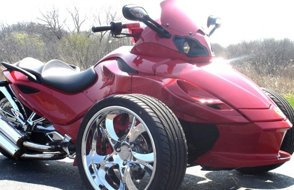 Can Am Spyder Dd Custom Cycle