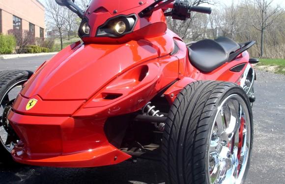 Can Am Spyder | DD Custom Cycle