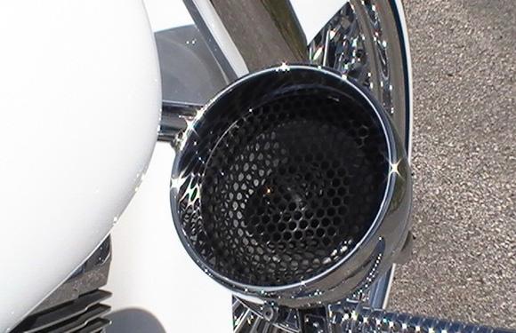 Dd Crash Bar Speaker Kit Dd Custom Cycle