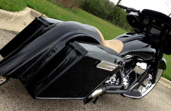 Ronnie S 2008 Street Glide Dd Custom Cycle